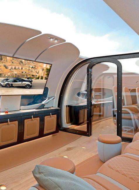 Най-луксозните частни самолети на света