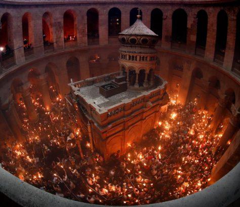 Чудото на Благодатния огън