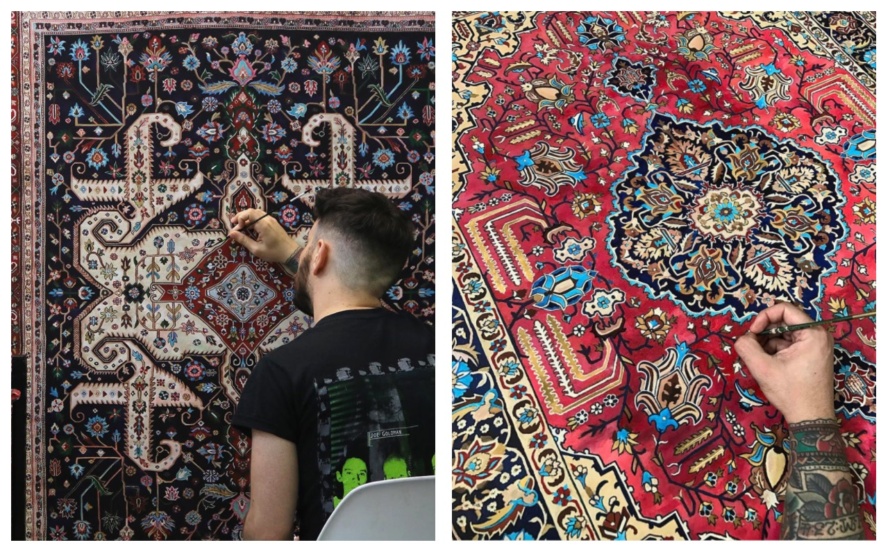 Най-странните килими в света