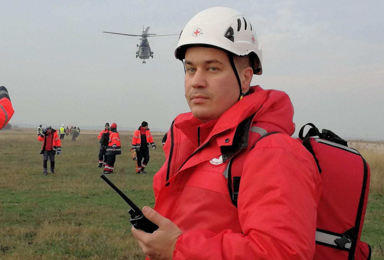 Николай Аргиров - Български Червен Кръст